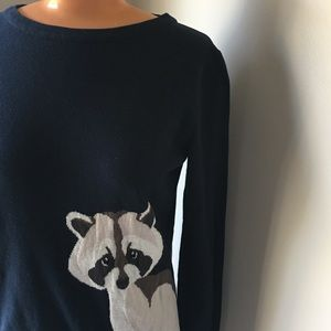 Raccoon Sweater -from ModCloth